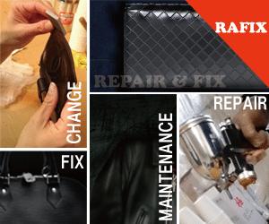 サイフ修理・バック修理などの革リペアーはRAFIX